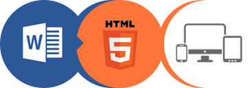word to html logo